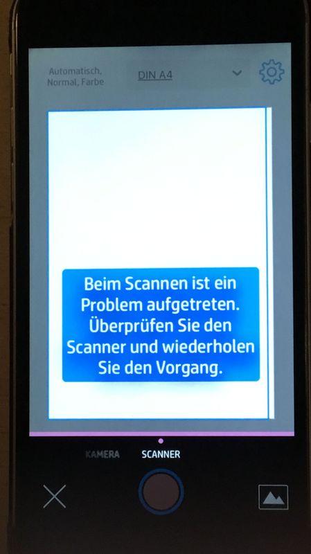 hp smart app not working iphone
