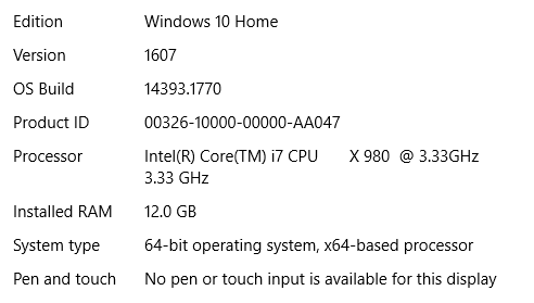 Fantastic Solved My Desktop Pc Appears To Be Stuck At Version 1607 Home Interior And Landscaping Spoatsignezvosmurscom