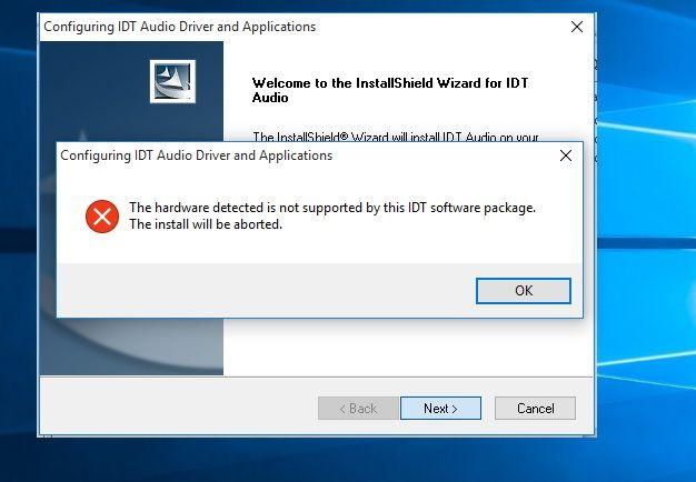 hp idt beats audio driver windows 10