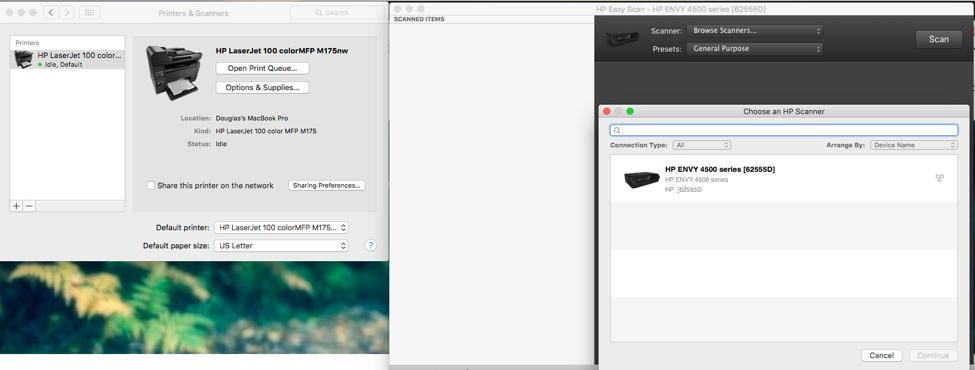 Hp printer scanner software for mac