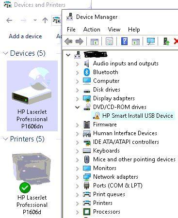 Multiple USB Printers Offline Windows 10 After Update - HP Support