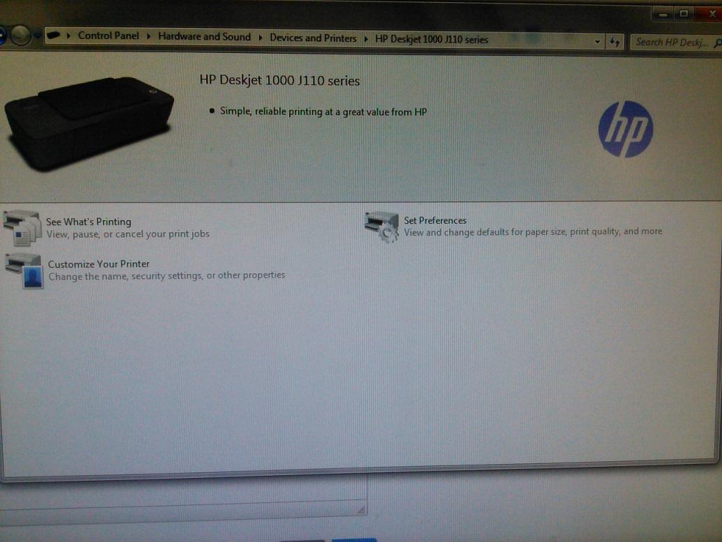 Hp deskjet 1000 drivers software for windows & mac os hp support.