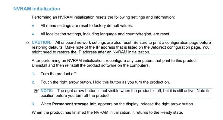 Solved: Resetting CM1415fnw - HP Support Community - 6330828