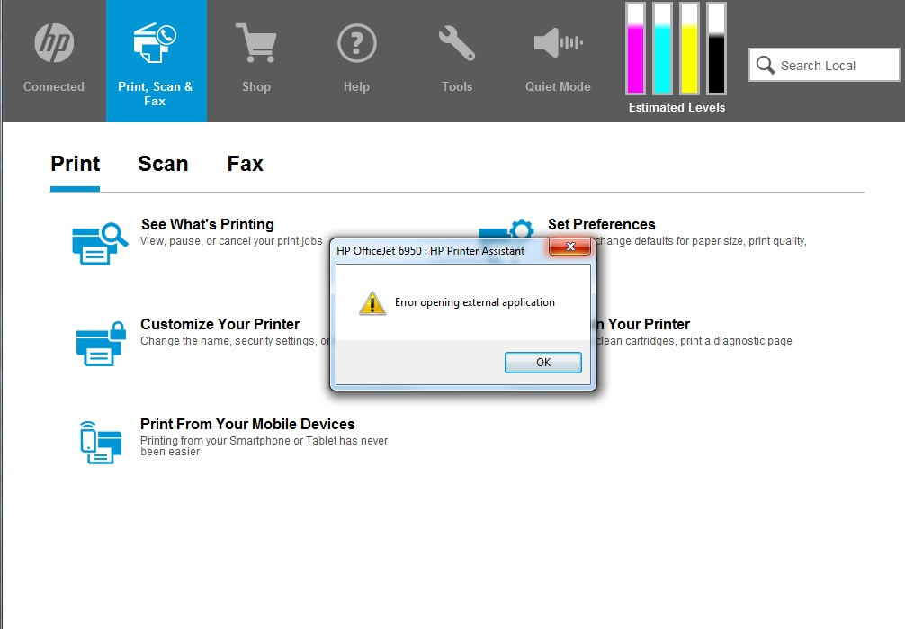Hp Scan Shared Library Error