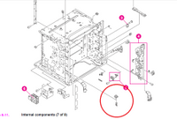 Solved: HP Color LaserJet 5550 jam in tray 1 and 2 error