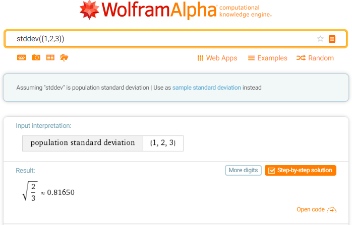 Solved Standard Deviation Functions Stddev And Stddevp Function
