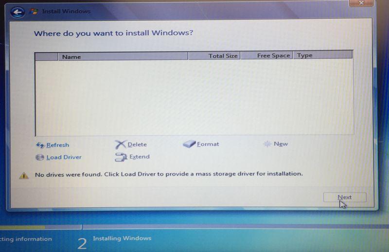 Install Windows 7 64bit on HP EliteBook 820 G3 - HP Support