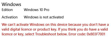 Solved: Asking to activate windows after warranty