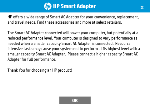 Is my charger the correct one? - HP Support Community - 6542311