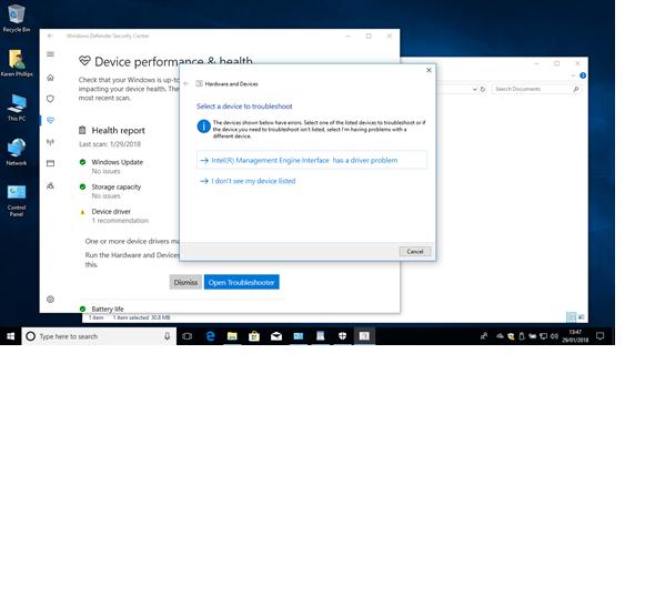 HP 15n-098sa Windows 10 version 1709 Bios Intel engine manag