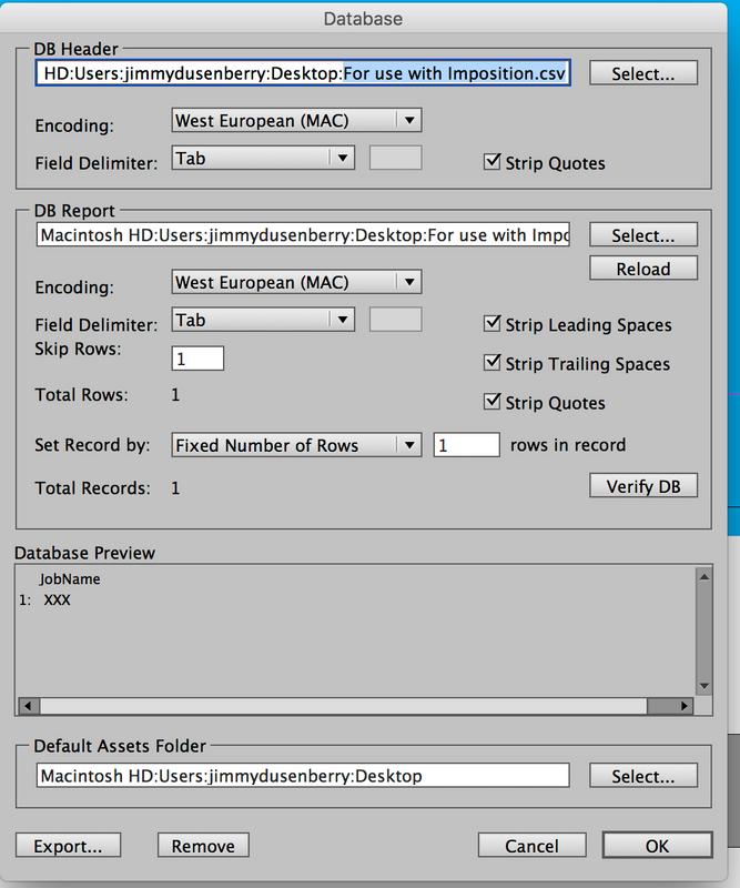 Imposition _ Database tab screenshot.png