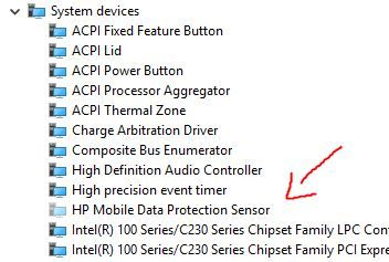 Solved: ACPI\HPQ6007 unknown device - HP Support Community