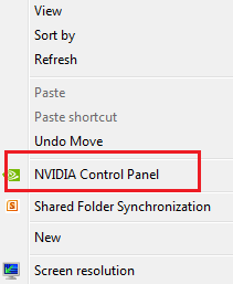 Solved: How do I restore my nvidia graphics card settings