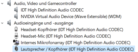 nvidia virtual audio device (wave extensible) (wdm) driver indir