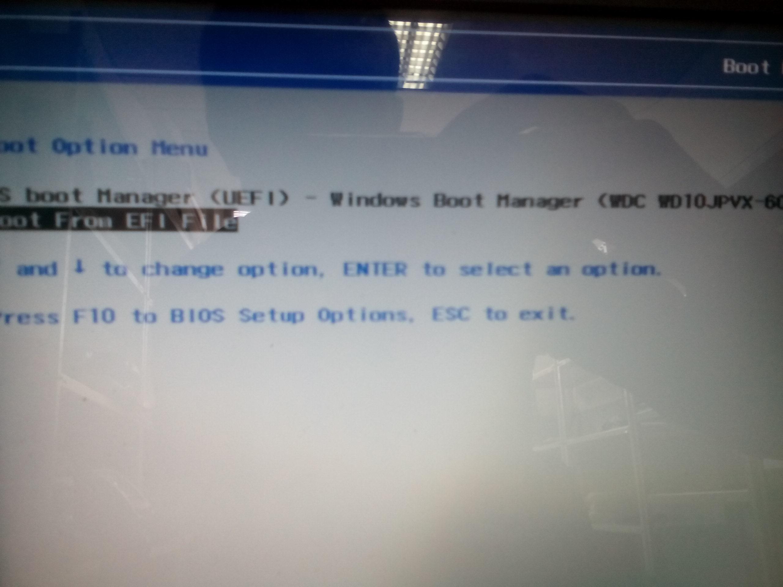 HP ENVY x2 11-g080ef UEFI Windows 8 X64