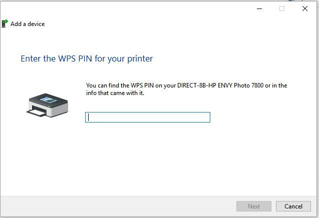 Where Is The Bloomin Wps Pin Number On The Printer Envy 78 Hp