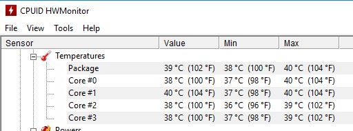 Unacceptable Temp Range for CPU/GPU !!! - HP Support