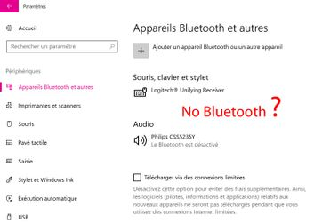 Solved: Bluetooth disappeared from my laptop Hp spectre x360