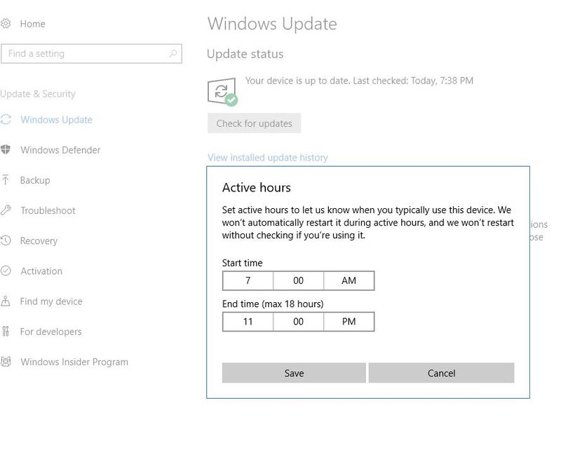Windows 10 Reboot after updates - HP Support Community - 6600897