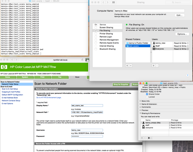Solved: Scan to network folder Mac - Page 2 - HP Support Community