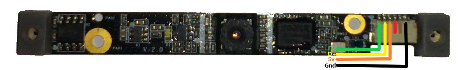 dv5 webcam pinout hp support community 360135 Light Wiring Diagram
