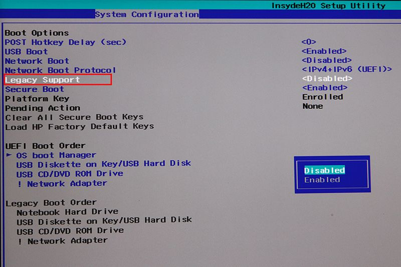 the latest 028d9 71ef7 is this a bio!!cant load it to uefi boot order on 64 bits wi ...