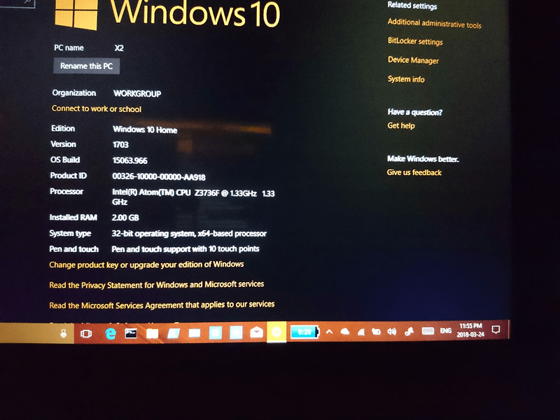 windows update to 1709 and fail because of drivers - HP
