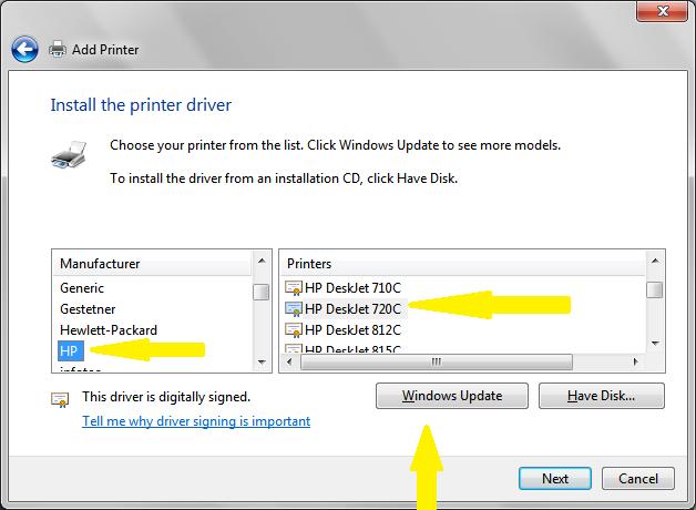 Hp 720c driver w7 64-bit microsoft community.