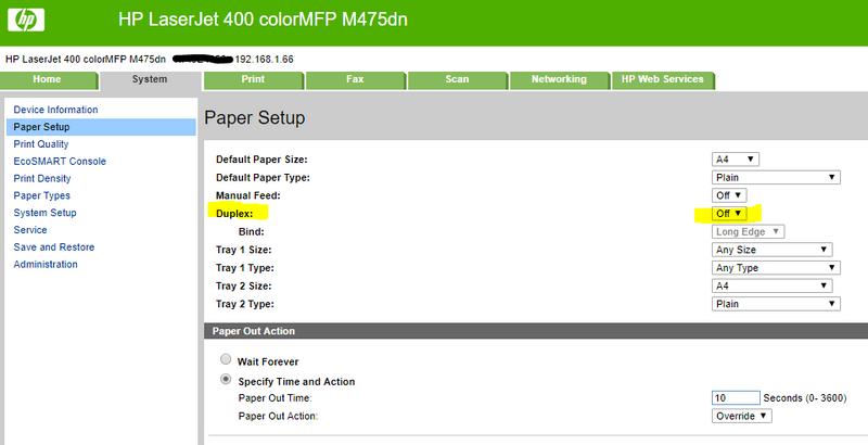 Setup Duplex Mode On Printer Hp Support Community 6640809