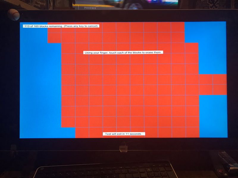 Flashing Circles and erratic mouse all over the screen on Hp