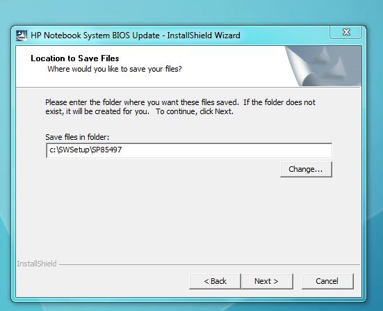 HP ProBook 6570b BIOS update dont work - HP Support