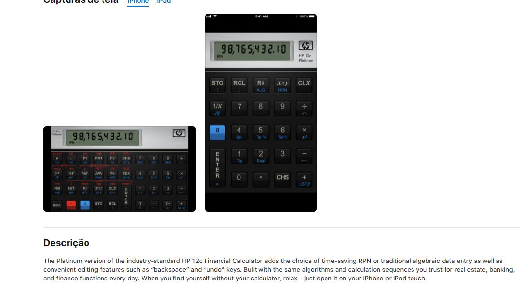 change decimal point to comma hp 12c app hp support forum 6653817 rh h30434 www3 hp com HP 12C Calculator HP 12C Tutorial