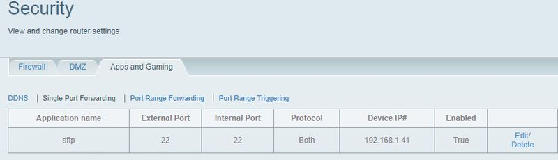 Forwarding Ports - HP Support Community - 6656409