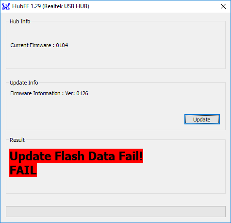 Omen Accelerator firmware update failure - HP Support Community