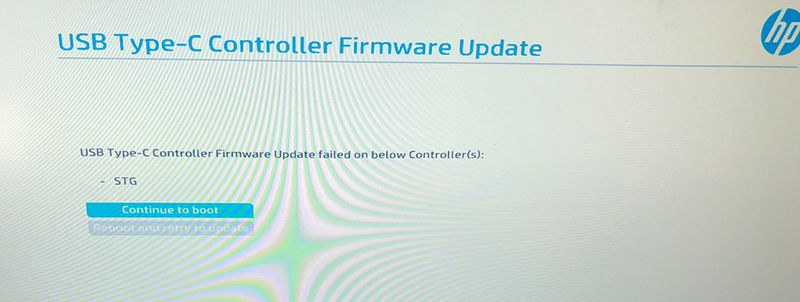 USB Type-C Controller Firmware Update - HP Support Community - 6673145