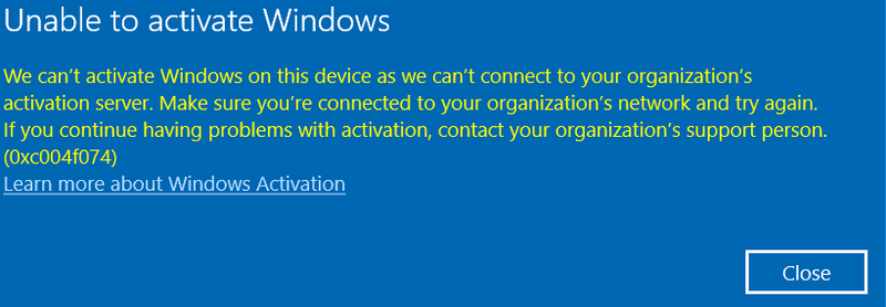 Difficulty activating my windows 10 operating system (cant c    - HP