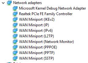 realtek rtl8188ee 802.11bgn wifi adapter