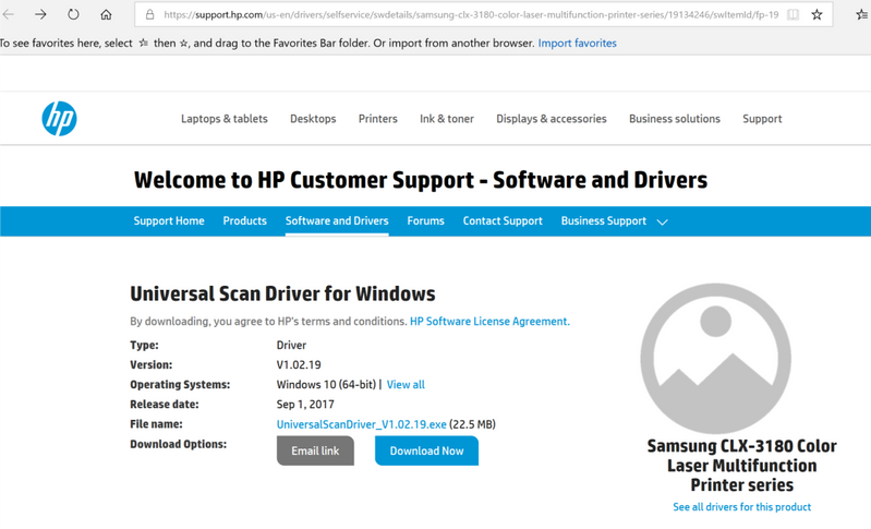 Universal Scanner Driver Missing Hp Support Forum 6699842