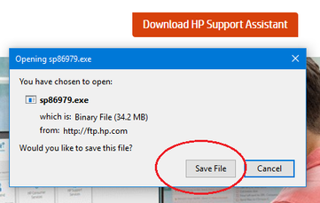 Solved: Can't Download HP Support Assistant - HP Support Community