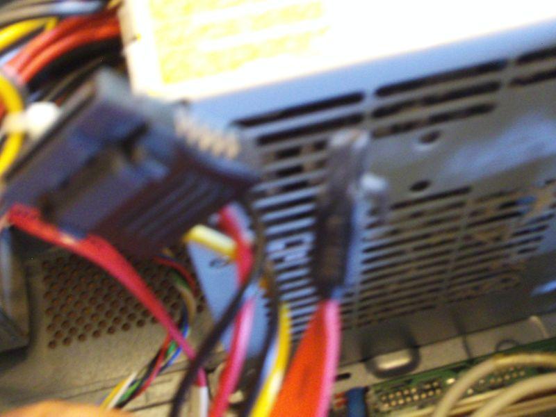 black IDE cables