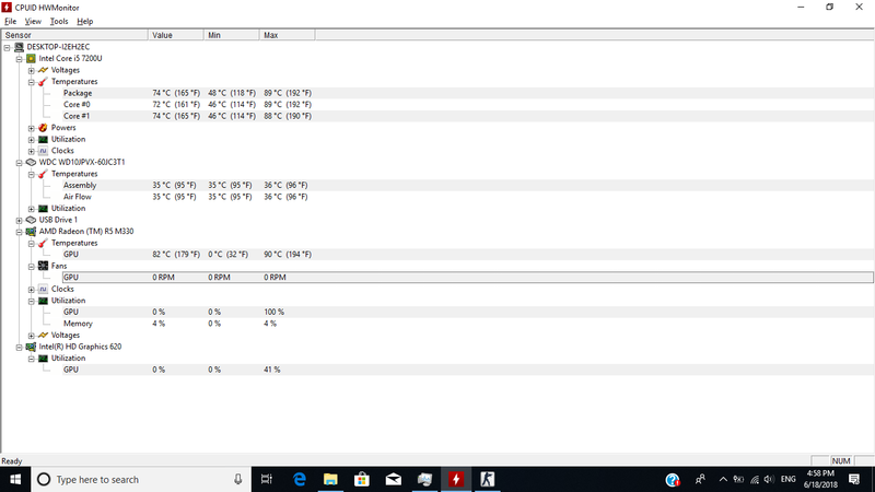 CPU Usage Drops Causing FPS Drops in Games - HP Support