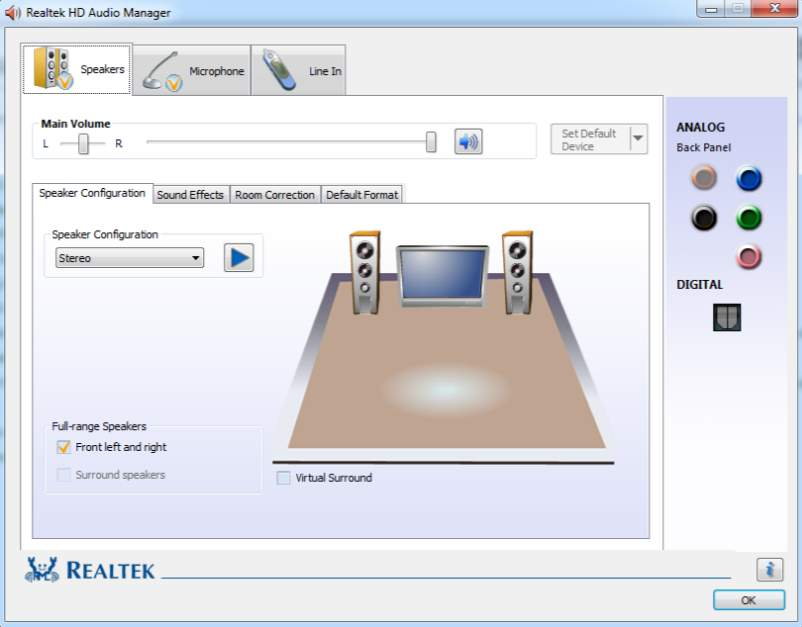 Download Realtek High Definition Audio Vista 2.82 for ...