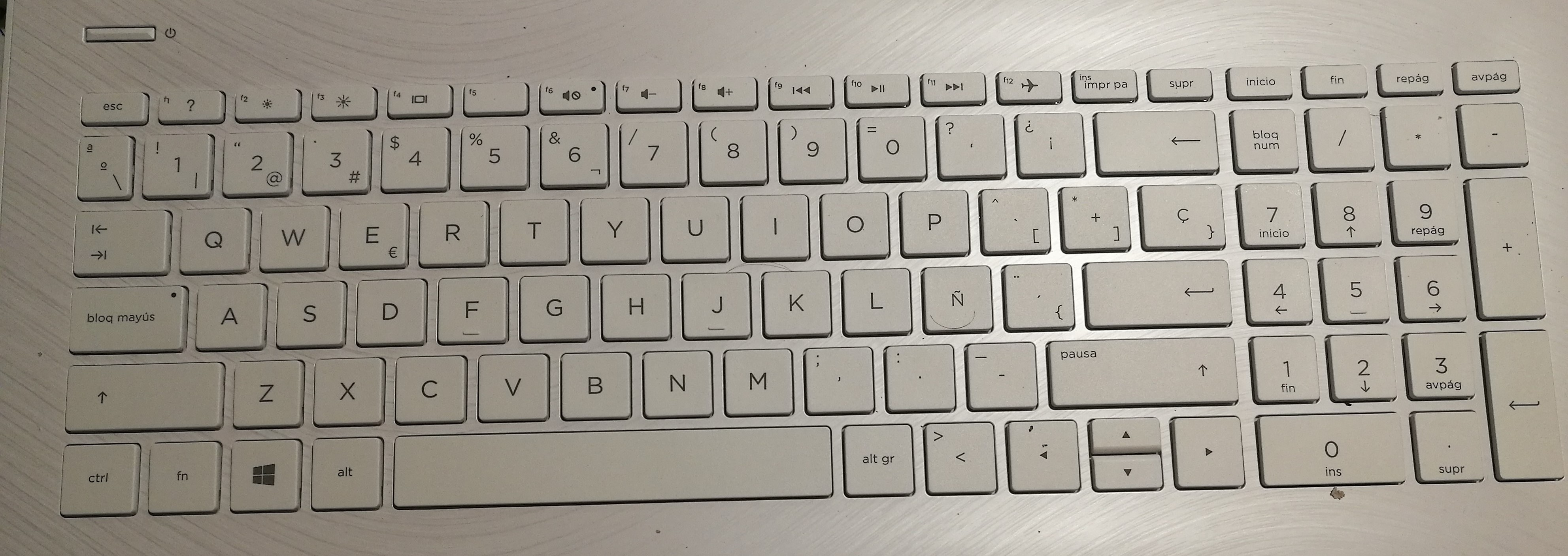 how to turn off insert key on hp envy