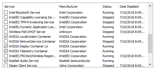 System process (ACPI sys) is using 10~15% cpu - HP Support