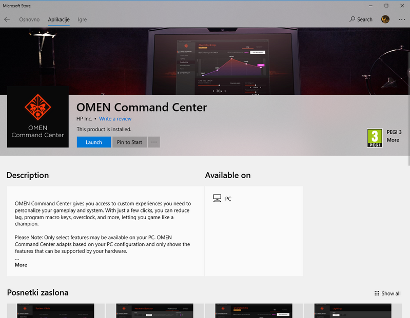 Solved: OMEN Command Center is not working on my OMEN 17-AN020NM