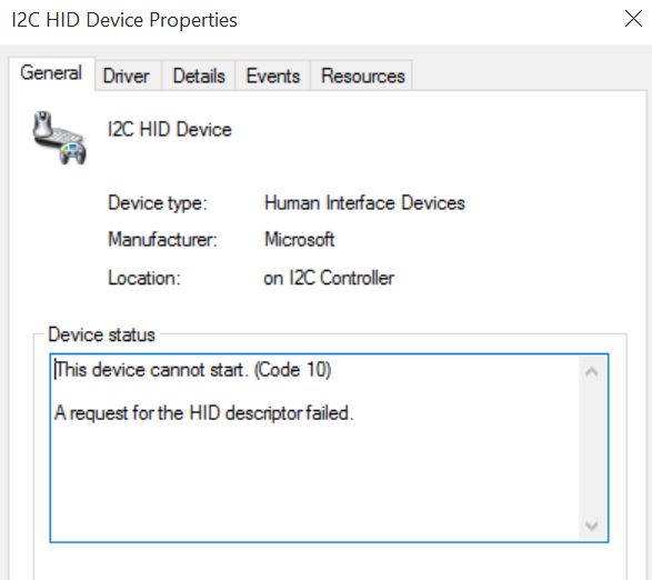 HP OMNI 10 Touch Screen Stopped working after windows update    - HP