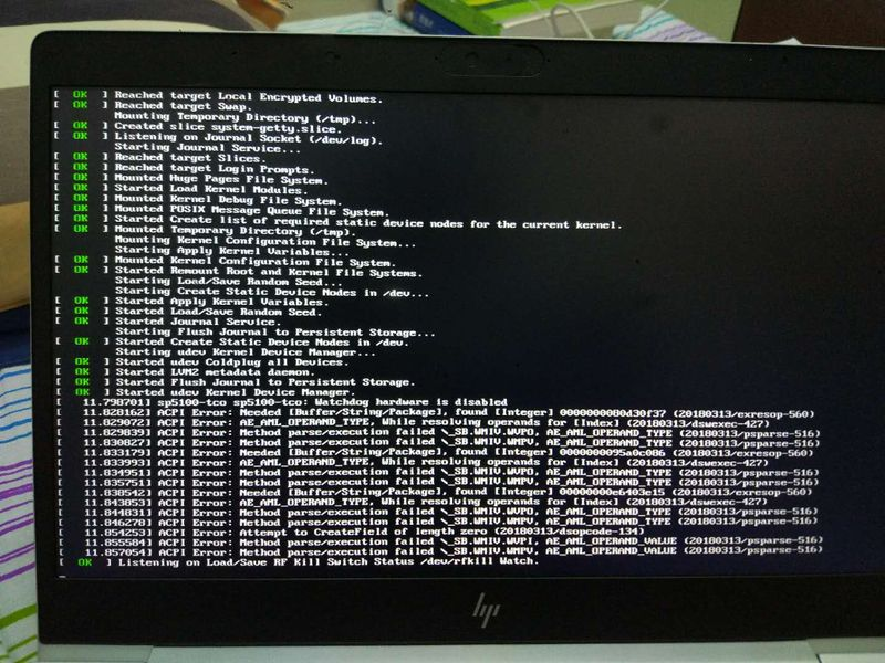 hp-elitebook-745-g5 install operating system of ubuntu 18