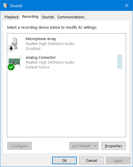 No Stereo Mix - HP Support Community - 5931049