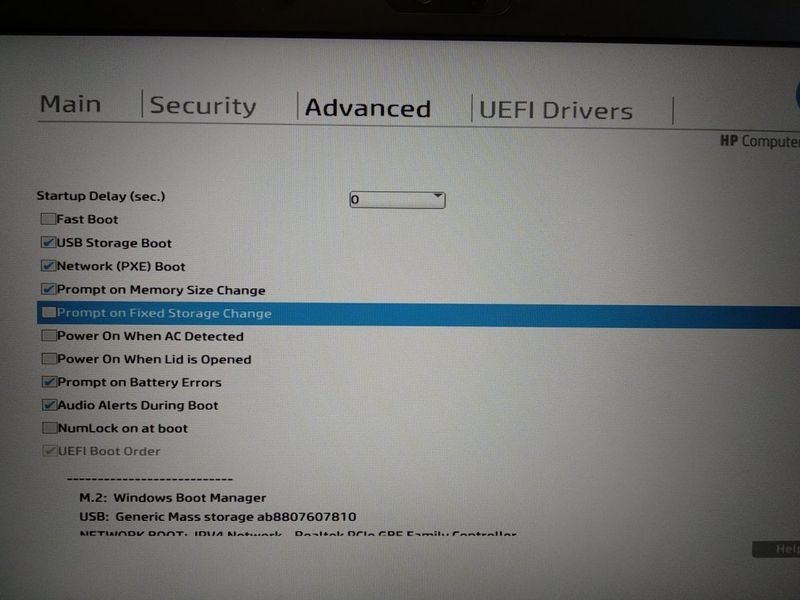 Solved: Linux installation on HP EliteBook 735 G5 impossible