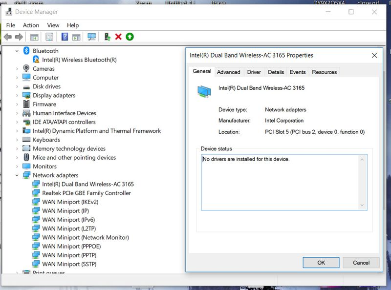 Solved: After Windows 10 Updates my wifi wireless adapter